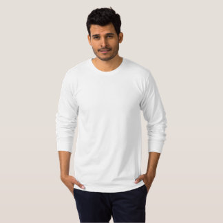 人のアメリカの服装のジャージーの長袖のTシャツ Tシャツ