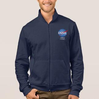 人のアメリカの服装のフリースのジッパーのジョガー ジャケット