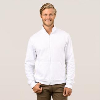 人のアメリカの服装カリフォルニアフリースのジッパー ジャケット
