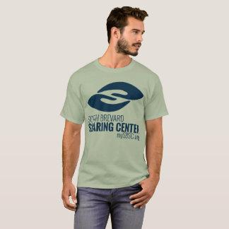 人のオリーブ色SBSCのワイシャツ Tシャツ