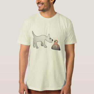 人のオーガニックなShiroおよびTakoのTシャツ Tシャツ