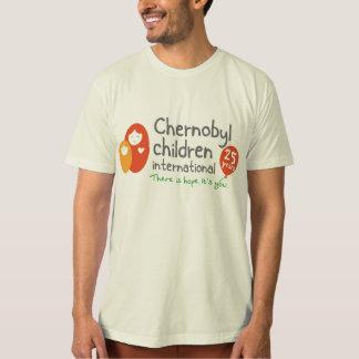 人のオーガニックなT Tシャツ