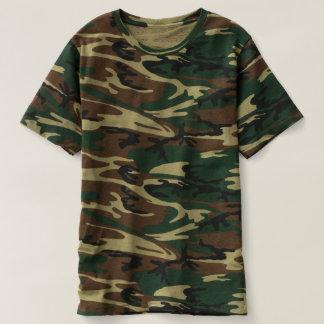 人のカムフラージュのTシャツ Tシャツ