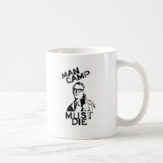 人のキャンプは死ななければなりません コーヒーマグカップ