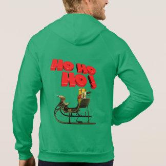 人のクリスマスのフード付きスウェットシャツ パーカ