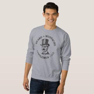 人のスエットシャツのひげおよび髭の紳士クラブ スウェットシャツ