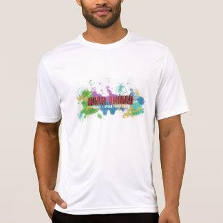 人のスポーツTekによって合われる性能のTシャツ Tシャツ