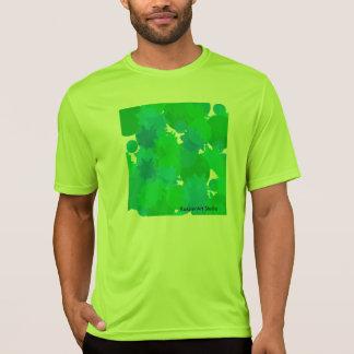 人のスポーツTekの競争相手のTシャツ Tシャツ