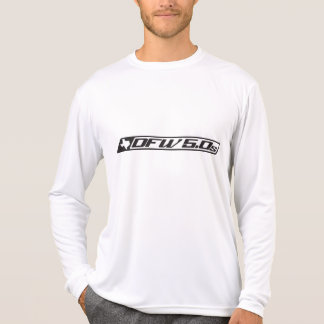 人のスポーツTekの競争相手L/SのTシャツ Tシャツ
