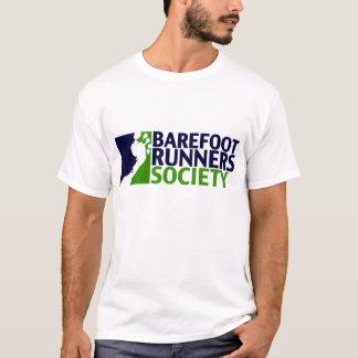 人のティーのロゴ Tシャツ