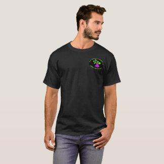 人のデマK9の黒いTシャツ Tシャツ