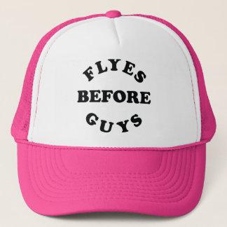人のトラックの帽子の前のFlyes キャップ