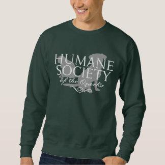 人のハンター緑の基本的なスエットシャツ スウェットシャツ