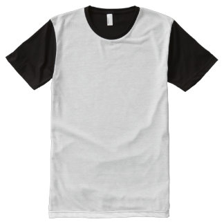 人のパネルのTシャツ オールオーバープリントT シャツ