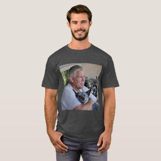人のヒースの灰色のTシャツ Tシャツ