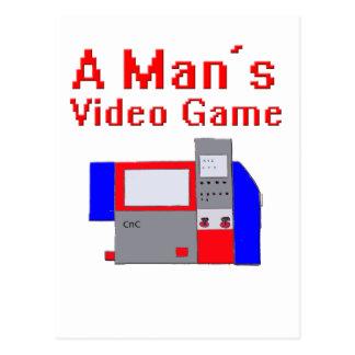 人のビデオゲーム ポストカード