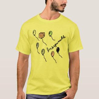人のブランデーグラス Tシャツ