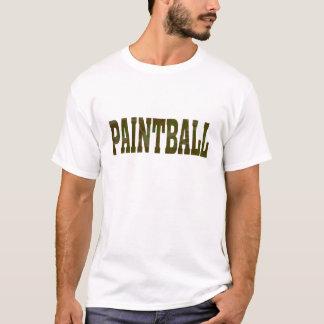 人のペイントボール Tシャツ