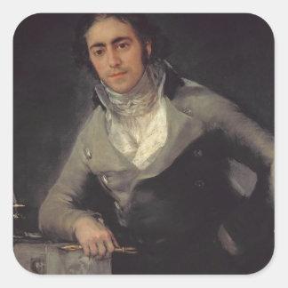 人のポートレートはドンEvaristo Pereであると推定しました スクエアシール