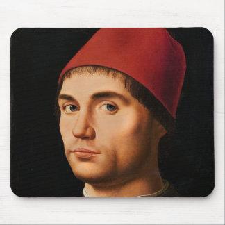 人のポートレート、c.1475 マウスパッド
