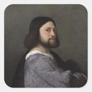 人のポートレート、c.1512 スクエアシール
