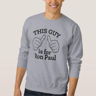 人のロン・ポールのこのワイシャツ スウェットシャツ