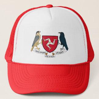 人の共和党の紋章付き外衣- Manx紋章の島 キャップ