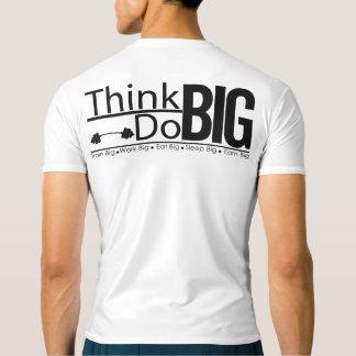 人の合われた性能の圧縮の訓練のTシャツ Tシャツ