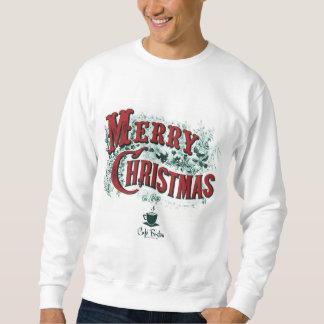 人の基本的なクリスマスのスエットシャツ スウェットシャツ