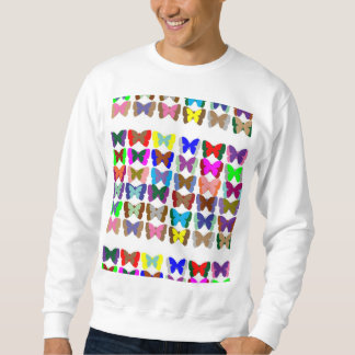 人の基本的なスエットシャツの蝶 スウェットシャツ