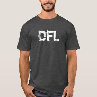 人の基本的な木炭ヒース色のTシャツ Tシャツ