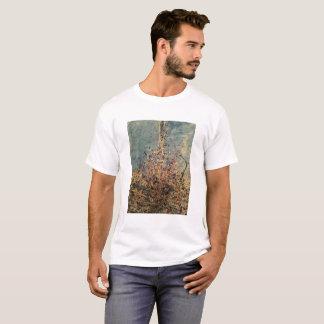人の基本的なTシャツの点滴注入の芸術のしぶき Tシャツ