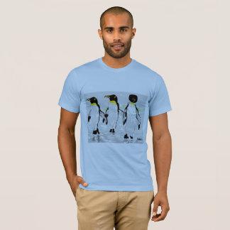 人の基本的なTシャツの    ペンギン Tシャツ