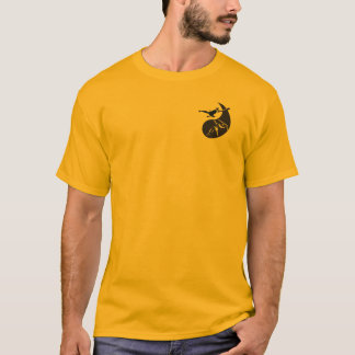 人の基本的なTシャツ- WUSHU SHAOLINのエンターテイメント Tシャツ