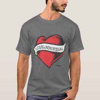 人の基本的なT (LiveJournalの入れ墨) Tシャツ