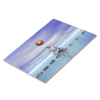 人の太陽およびステップ惑星 ノートパッド