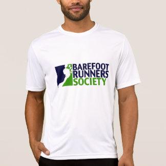 人の性能のmicrofiberのロゴのティー tシャツ