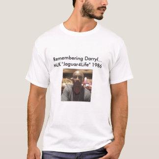 人の懇親会のティーのRemebering Darrylの自由1986年 Tシャツ