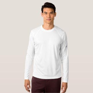 人の新しいバランスの長袖のワイシャツ Tシャツ