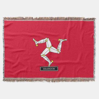 人の旗の島 スローブランケット