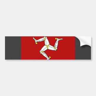 人の旗の島 バンパーステッカー