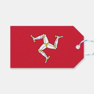 人の旗、イギリスの島が付いているギフトのラベル ギフトタグ
