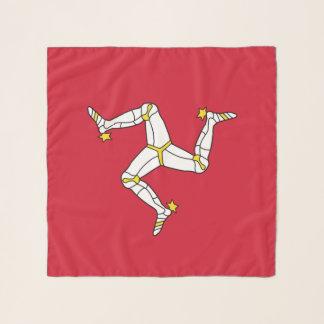 人の旗、イギリスの島が付いている正方形のスカーフ スカーフ