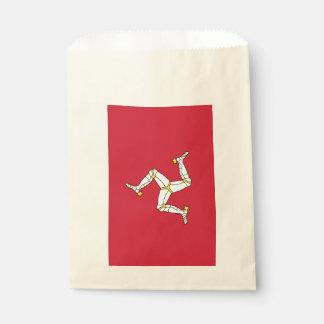 人の旗、イギリスの島とバッグを支持して下さい フェイバーバッグ