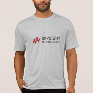 人の灰色のスポーツTekの競争相手のTシャツ Tシャツ