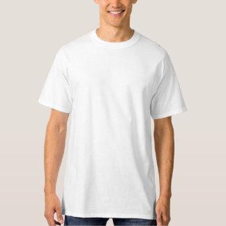 人の白い高いHanesのTシャツ Tシャツ