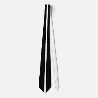人の白黒タイ ネクタイ