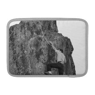 人の石の登山 MacBook スリーブ