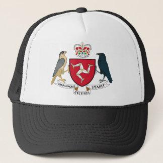 人の紋章付き外衣- Manx紋章の島 キャップ