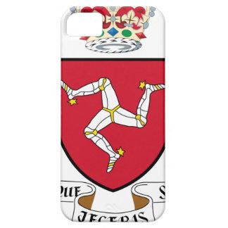 人の紋章付き外衣- Manx紋章の島 iPhone SE/5/5s ケース